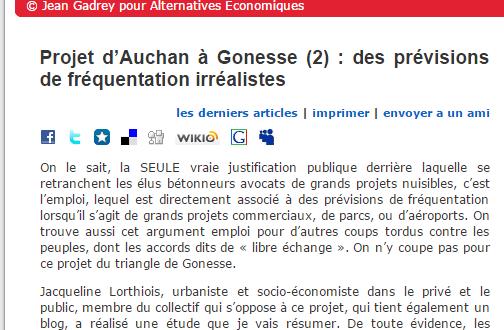 Blog de Jean Gadrey, sociologue
