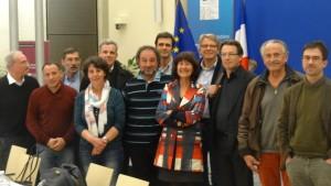 Au Ministère de l'Ecologie 14.03.2015